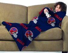 Buffalo Bills Youth Kids COMFY THROW Blanket with Sleeves NEW