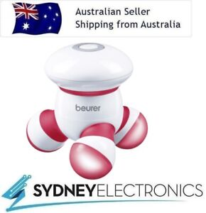 Beurer Mini Portable Handheld Vibration Massager Massage Hand Held- Red