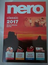 Nero 2017  Classic - Multimedia Suite for Windows with Free Shipping