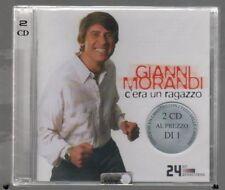 GIANNI MORANDI C'ERA UN RAGAZZO CD  SIGILLATO!!!