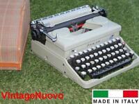 MACCHINA DA SCRIVERE EVEREST OLIVETTI MOD 90 DEL 1940 VINTAGE TYPEWRITER M40 M20