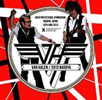 VAN HALEN 2013 NAGOYA JPN CD XAVEL-212 DANCE THE NIGHT AWAY HARD ROCK BAND