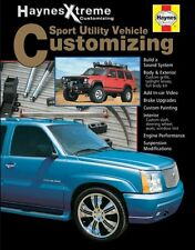 SUV Customizing Haynes Xtreme Manual Book Tahoe Cherokee Rav4 CR-V Explorer Ford