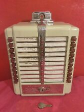 JUKEBOX WALLBOX  SEEBURG W1- L56 COMPLETE ALL ORIGINAL ANTIQUE COLLECTABLE