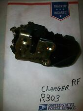 08 09 10 Dodge Chager RF RIGHT FRONT PASSENGER DOOR LATCH & ACTUATOR TEST#R303+