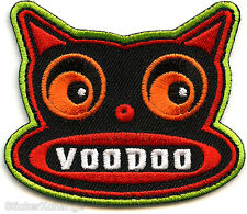 Voodoo Cat PATCH Embroidered Iron On FDP58 Chico Von Spoon