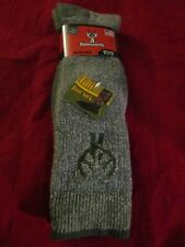 1 Pair Huntworth 90% Merino Wool Men Hiking Thermal Tall Boot Socks XLarge 12-16