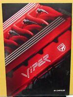 1994 Chrysler International Viper Foreign Dealer Sales Brochure German Text V10