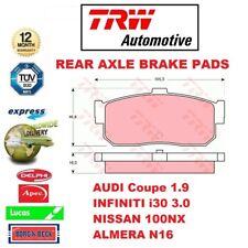 Für Audi Coupé 1.9 Infiniti i30 3.0 Nissan 100NX Almera N16 Hintere Bremsbeläge