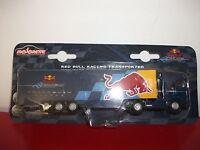 red bull racing transporter formule team F1 camion truck  1/87 voiture Majorette