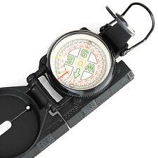Kompass, Peilkompass, Military Marschkompass in robustem Metallgehäuse