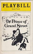 """The Prince of Grand Street"" Playbill FLOP Robert Preston Boston Tryout"