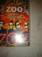 U2 ZOO TV LIVE FROM SYDNEY - VHS Cassette