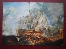 POSTCARD SAILING VESSELS THE VICTORY AT TRAFALGAR 1805