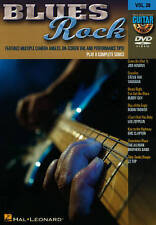 GUITAR PLAY-ALONG, VOL. 28: BLUES ROCK NEW DVD