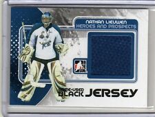 NATHAN LIEUWEN 10/11 ITG Prospects Rookie Update Jersey #M-59 Update Game-Used