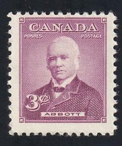 Canada 1952 Prime Minister Abbott, MNH sc#318