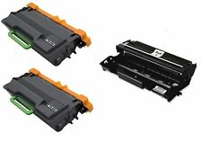 New 2PK H/Y TN-880  Toner + 1 DR-820 Drum for Brother DCP-L5500DN MFC-L6700