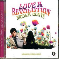 NICOLA CONTE - LOVE & REVOLUTION - CD SIGILLATO 2011