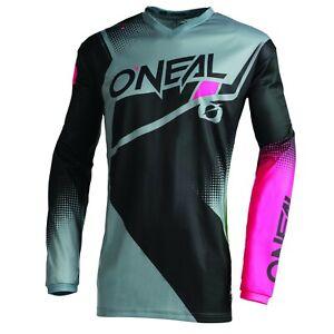 O'Neal Womens & Girls Element Jersey - MX Motocross Dirt Bike Off-Road ATV MTB