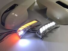 MIT Toyota SIENNA 2011-2020 LED mirror cover turn light+Parking+puddle-UNPAINTED