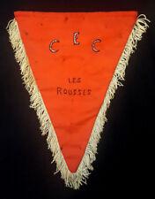 Fanion insigne Centre d'Entrainement Commando 23° RI Fort Les Rousses