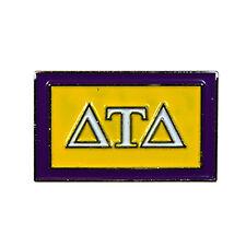 Delta Tau Delta Fraternity Flag Lapel Pin