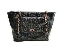 Kate Spade Emery Court Willis Quilted Leather Tote Bag Shoulder Bag Purse Black