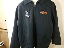 XL Work Jacket With Hamms Beer Logos on Front and Pabst Back Logo (086)