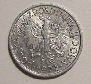 Poland 1974 2 Zlote Coin