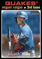 2020 Heritage Minors Real One Auto #ROA-MV Miguel Vargas