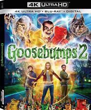 Goosebumps 2: Haunted Halloween (4K Ultra HD + Blu-ray + Digital HD) NEW SEALED