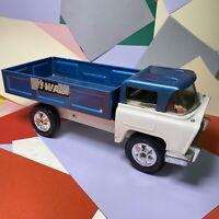 Vintage Triang Milk Truck 1960's Lorry pressed steel Highway series Good Paint