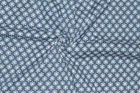 5 Yard Indian Blue Indigo Hand Block Print 100% Cotton Fabric Dressmaking Sewing