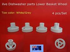 ilve dishwasher Spare Parts Lower Basket Wheel Replacement White(C309) Brand New