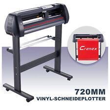 Schneideplotter Folienplotter 720mm Signmaster Software Kunsthandwerk +Zubehör