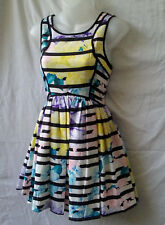 Angel Biba Size 8 NEW+TAGS Mini Dress Stretch Casual Beach Summer Party Holiday