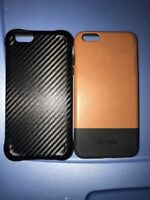 Lot Of 2pc IPhone 6s Plus Case Jack Spade Case ,And Adopted Leather Style Case