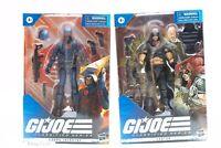 LOT of 2 Hasbro GI Joe Classified Series Cobra Infantry Zartan Action Figure 6in