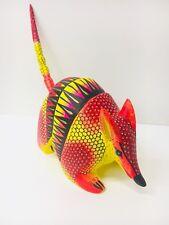 ARMADILLO ALEBRIJES WOOD Carving Colorful