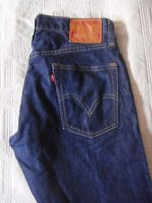 Levi's Premium Skinner Low Rise Selvedge Boot Cut Button Fly Size W33 X L30