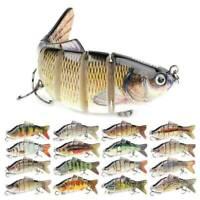 Fishing Lures Sinking Wobblers Multi Jointed Swimbait Crankbait Lure Hard Baits.