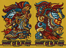 Jeff Wood Widespread Panic Panic en la Playa Cinco S/# Set of 2 Concert Posters