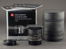 Leica M 28mm 2.8 Elmarit asph. 11677 6bit -NEU- FOTO-GÖRLITZ Ankauf+Verkauf