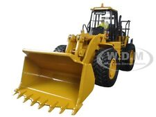 CAT CATERPILLAR 980G WHEEL LOADER WITH OPERATOR 1/50 BY DIECAST MASTER 85027