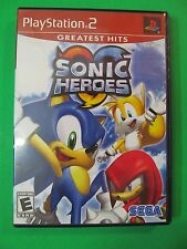 PS2 Sega Sonic Heroes PlayStation 2 Greatest Hits 2003