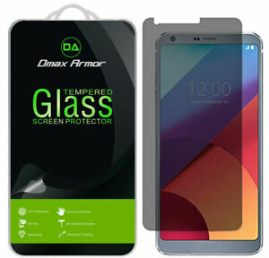 2-Pack Dmax Armor (Privacy) Tempered Glass Screen Protector for LG G6 / G6 Duo