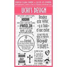 UCHI'S DESIGN Uchi's Design Spanish Clear Stamps - 148447
