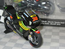 1:12 MINICHAMPS BRADLEY SMITH MOTO GP 2015 MONSTER YAMAHA  LTD ED 122 153038
