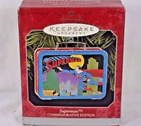 Hallmark Keepsake Ornament Superman Lunch Box Commemorative 1998
